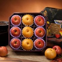 팜스 사과배혼합 팔각1호 4.5kg(사과6入/배3入)