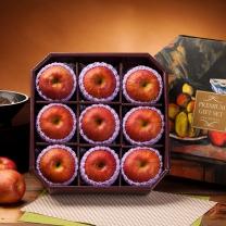 팜스 사과세트 팔각1호 3.7kg(9과내)