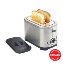 [하이마트] 스테인레스 토스터 HTT-KF600S [600W / 7단계 온도조절 / 해동 기능]