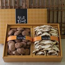 화인표고버섯세트6호 (동고150g+슬라이스90g)