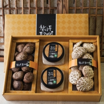 화인표고버섯세트2호 (동고90g+분말100g+화고100g)