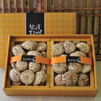 화인표고버섯세트1호 (백화고200g+백화고200g)
