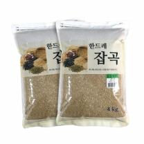 [월드그린] 한드레 칼집현미 4kg2봉