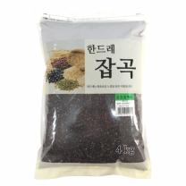 [월드그린] 한드레 칼집찰흑미 4kg