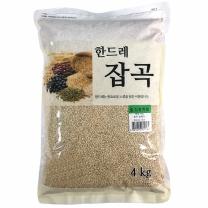 [월드그린] 한드레 칼집찰현미 4kg