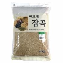 [월드그린] 한드레 칼집현미 4kg