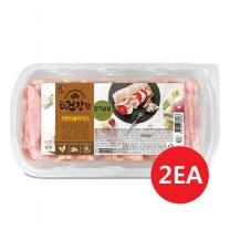[CJ직배송] 더건강한 브런치슬라이스 닭가슴살250g X2개