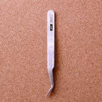 45도굴곡 정밀 핀셋/프라모델 네일아트 과학용 족집게