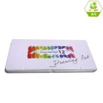 [바른손플러스] NEW 12색드로잉아트목색연필