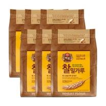 [CJ직배송] 찰밀가루2.5kg x 6개 (총6개)