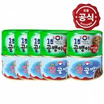 (유동공식몰)유동 1초 골뱅이(매콤/조림)140gx10개