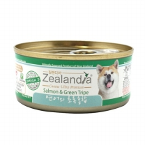 질랜디아 연어와 초록홍합 강아지 주식캔 85g X 24개