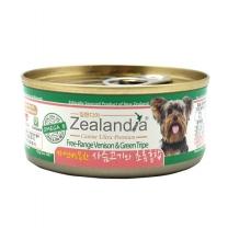질랜디아 사슴고기와 초록홍합 강아지 주식캔 85g X 24개