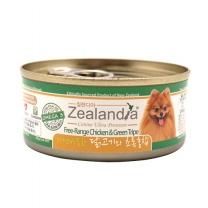 질랜디아 닭고기와 초록홍합 강아지 주식캔 85g X 24개