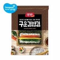 동원 양반 구운김밥김 전장(10매) x10봉 /양반김
