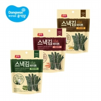 동원 양반 스낵김 바이트 35g x16봉 (3종 택1) /간식