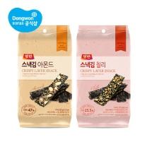 동원 양반 스낵김 20gx10봉 (아몬드/칠리) /간식
