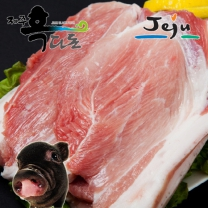 [제주푸드] 제주 올레도새기(냉장) 흑돼지 앞다리살/구이용 400g