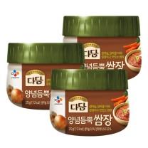 [CJ직배송] 다담 양념듬뿍쌈장 570G*3개