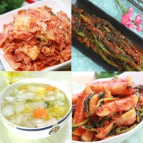 [안심반찬] 국산 반찬모음 김치 200g/1kg
