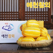 (인빌푸드)예천참외 가정용(크기섞어서) 5kg(15-20과)