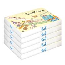 [미래생활]잘풀리는집 여행용 티슈 56매 x 5