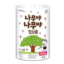 [미래생활]나무야나무야 점보롤(2겹) 250M x 4롤