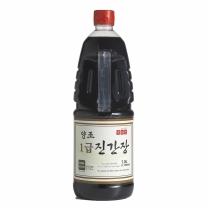 [신앙촌] 양조 1급진간장 (1.8L)