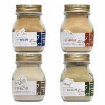 20%할인특가/강고집 천연조미료 4종 각1병씩/멸치/새우/다시마가루/표고버섯가루