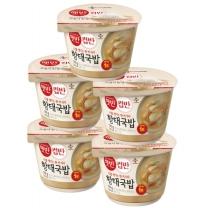 [CJ직배송] 햇반 컵반 황태국밥 X5개