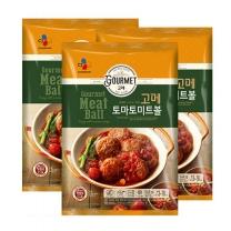 [CJ직배송] 고메 토마토미트볼 548g x3개