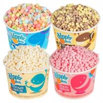 디핀다트 구슬아이스크림 기프트팩2 16ea(초코바나나, 레인보우, 바닐라, 딸기)