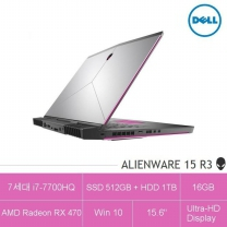 [하이마트] 고품격 게이밍 노트북 에일리언웨어 15-104KR [7세대 i7/ 라데온 RX470 탑재]