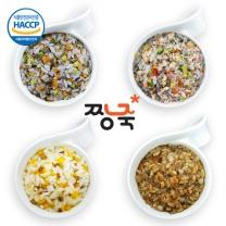 짱죽 이유식 12+2팩 증정 이벤트 / 4단계 아기밥