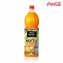 [코카콜라] 미닛메이드 제주감귤 1.5Lx12병(PET)/1박스