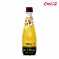 [코카콜라] 슈웹스 레몬토닉 350mlx24병(PET)/1박스