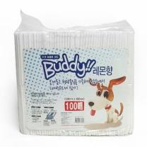 [바보사랑]Buddy애견동물용패드100매(레몬향)