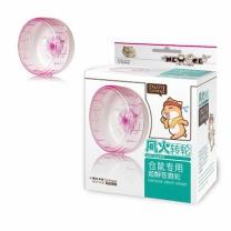 [바보사랑]NEW AGE 햄스터 무소음 쳇바퀴 12cm 핑크(NA-H116)