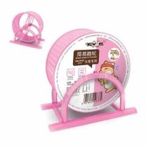 [바보사랑]NEW AGE 햄스터 발빠짐방지 쳇바퀴 13cm 핑크(NA-H131)