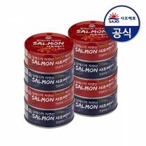 [사조해표] 연어 살코기 or 매운맛 135g(안심따개) x8캔