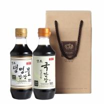 신앙촌 양조간장 K 2-1호 / 3세트 구매시 1세트 증정