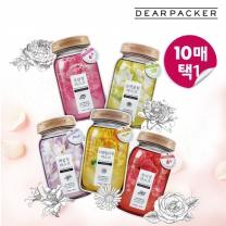 [LG뷰티]디어패커 꽃청 마스크 10매 (총5종택1)