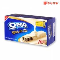 [동서식품] 오레오 화이트웨하스 스틱 150g