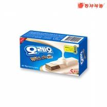 [동서식품] 오레오 화이트웨하스 스틱 75g