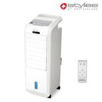 [하이마트] 리모콘 냉풍기 SSCF-750R [수면풍 / 키즈락 / 최대7H타이머]
