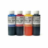 [바보사랑]HP 무한잉크공급기용 보충용 잉크 뉴오피스 110ml 4색세트