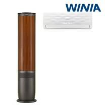 [전국기본설치무료] 위니아 멀티 2in1 에어컨(18형+6형) PVS-186RSVD/ 위니아에어컨