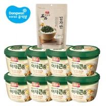 [동원] 양반 큰죽404gx8개+(김자반50g) /야채/쇠고기/전복