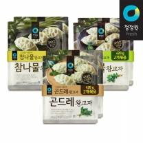 청정원 나물왕교자 420g+420gx2개(곤드레,취나물,참나물)