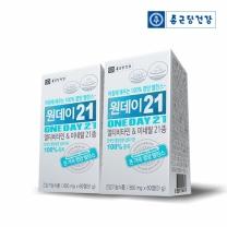[종근당건강] 원데이21 멀티비타민 2세트 (총4개월분)